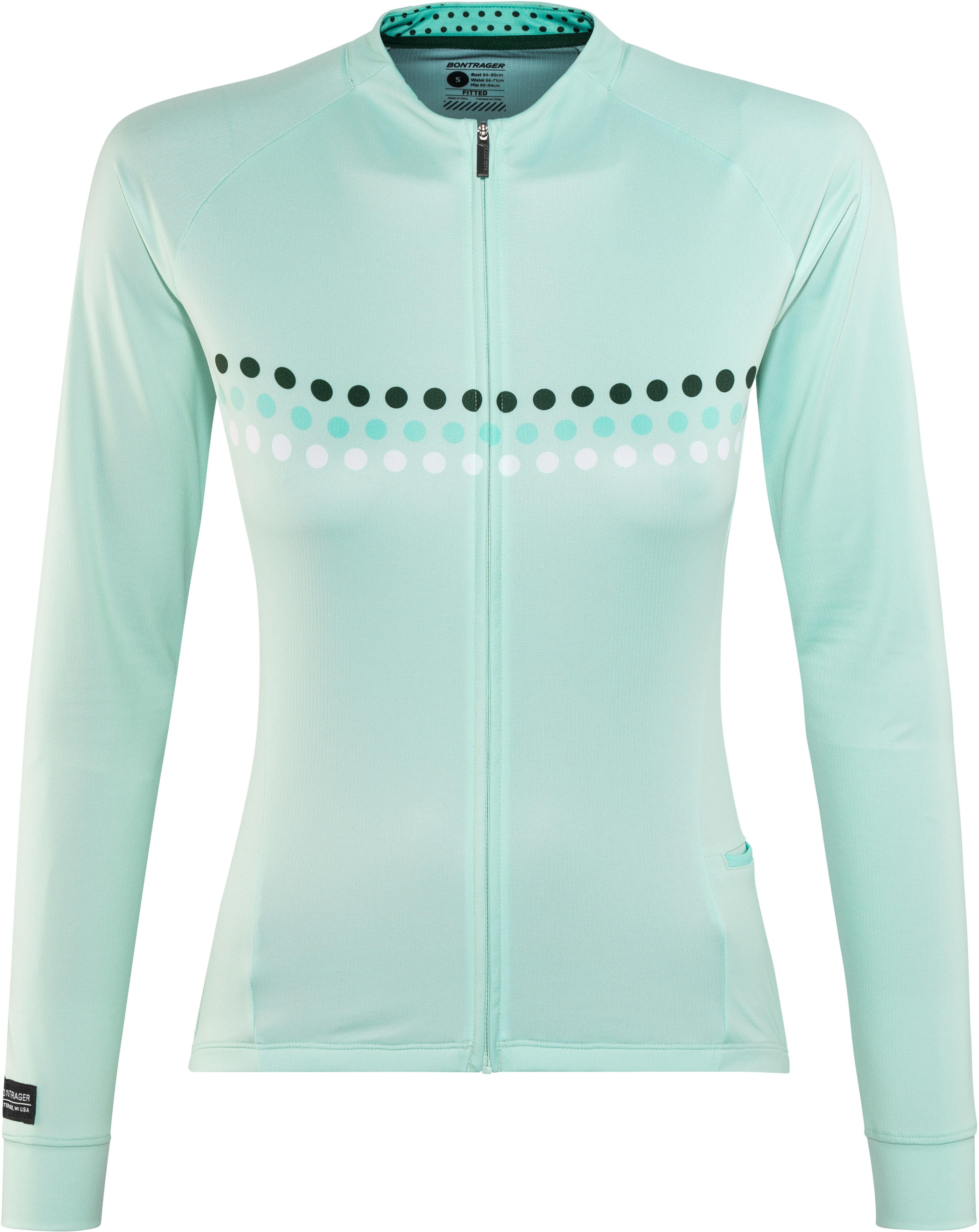 dd33e1def Bontrager Circuit Cycling Bike Jersey Longsleeve Women blue at ...